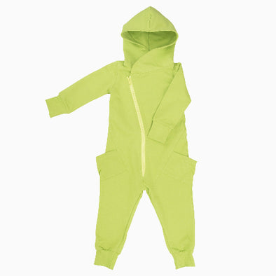 Lime Organic Cotton College Jumpsuit