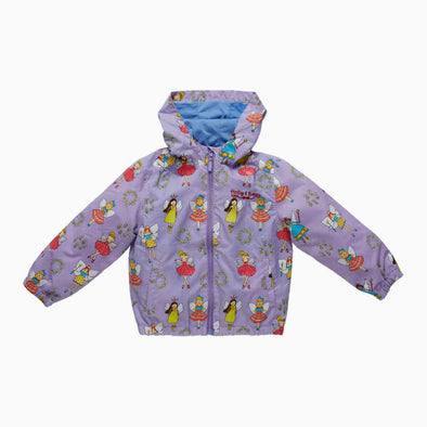 Purple Fairy Magical Colour Changing Raincoat