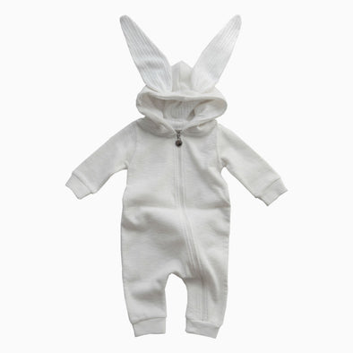 Baby Beige Rabbit Suit
