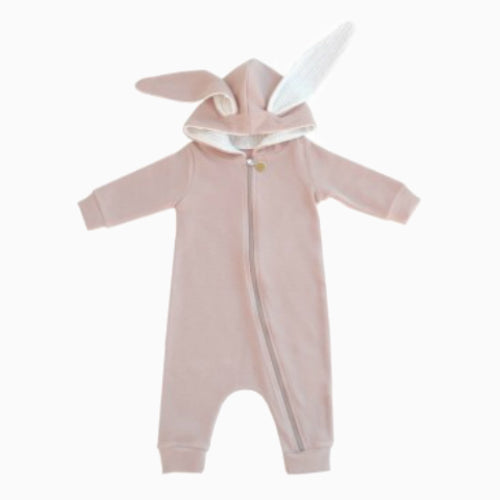 Baby Pink Rabbit Suit