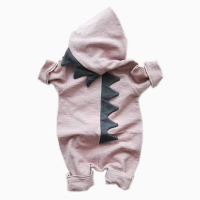 Baby Pink Dino Suit