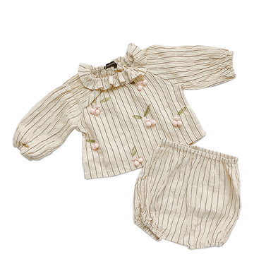 Baby Cream Cherry 2-Piece Set