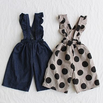 Dotted Frill Overall