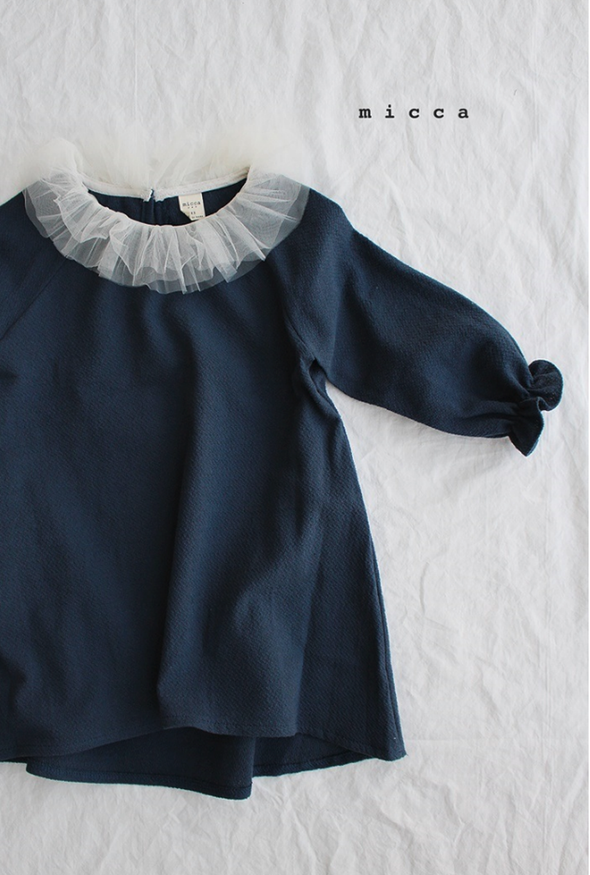 Navy Blue Pre Dress