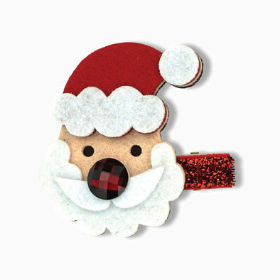 Santa Christmas Duck Clip