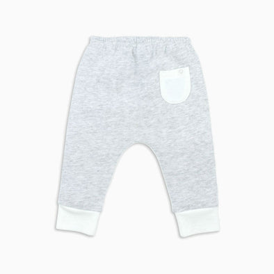 Grey Organic Cotton Yoga Pants