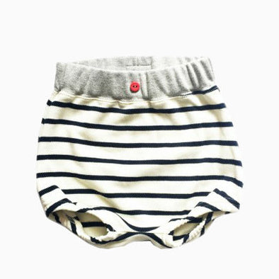 Baby Breton Striped Organic Cotton Bloomers