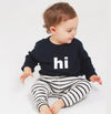 Baby Breton Striped Organic Cotton Pants