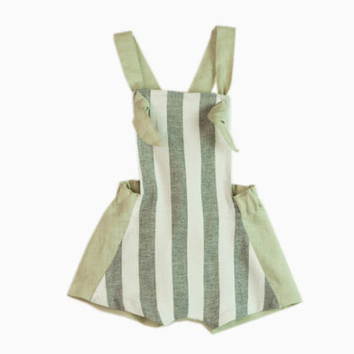 Reversible Green Dungarees