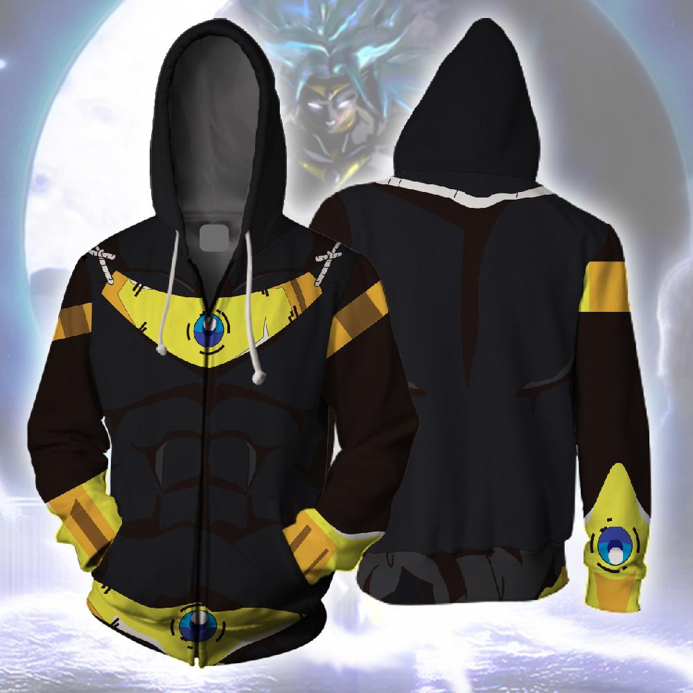 Broly Zipup Hoodie - Dragon Ball Super