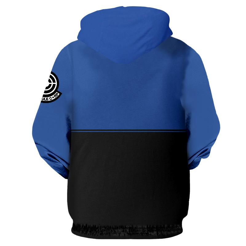 Dragon Ball Z Capsule Corp Blue Hoodie