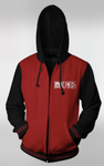 Cool One Piece Black&Red Hoodie