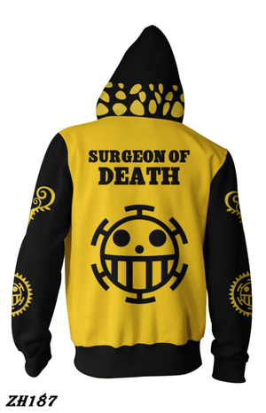 Trafalgar D. Yellow&Black