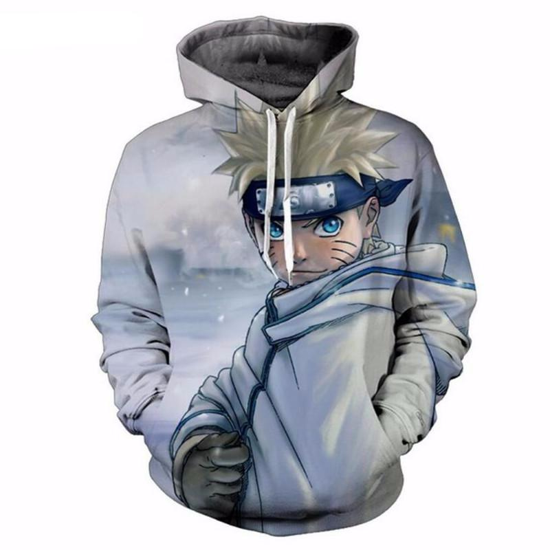 Naruto in the Mist Hoodie