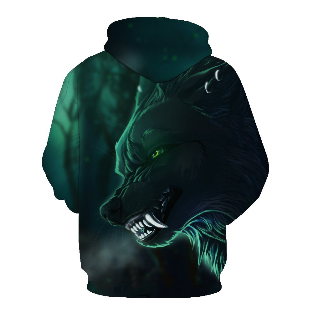 Teal Shade Wolf