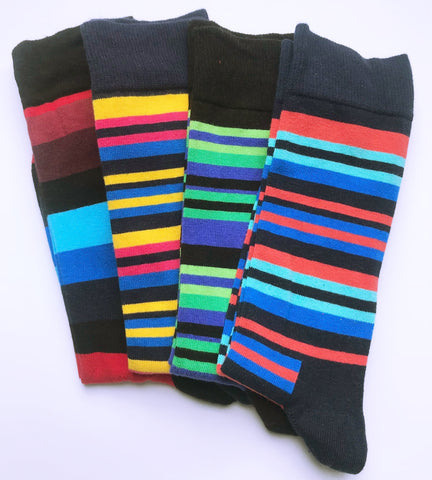 A Man Among Socks - Stripes Bundle
