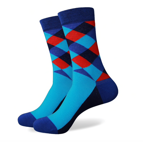 Mens Socks, Dress Socks, Stylish Socks, Colorful Socks