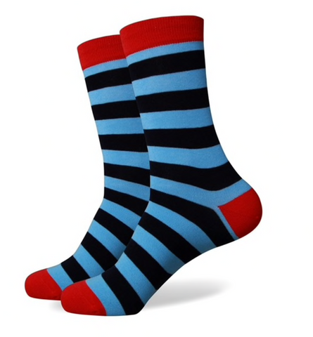 A Man Among Socks - Rad Stripes - 2