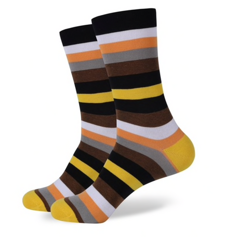 A Man Among Socks - Rad Stripes - 3