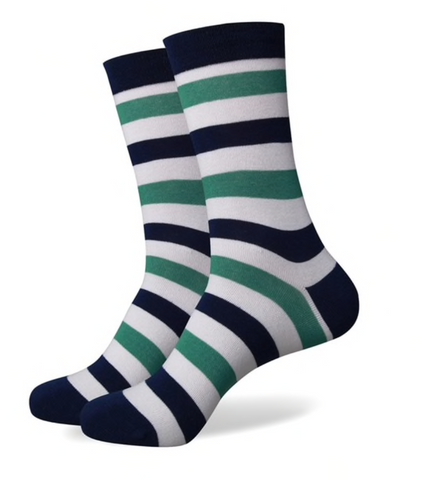Mens Striped Socks, Colorful Socks, Dress Socks, Fun socks, Mens socks, Socks