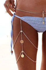 Boho Multilayer Thigh Chain