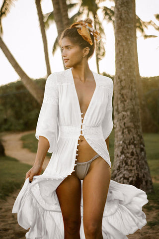 39e303aa68e9d Swimsuit Cover Ups - Beach Crochet, Lace, Mesh, White, Black Cover ...