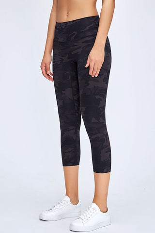 Naked High Waisted Carpi Active Yoga Leggings
