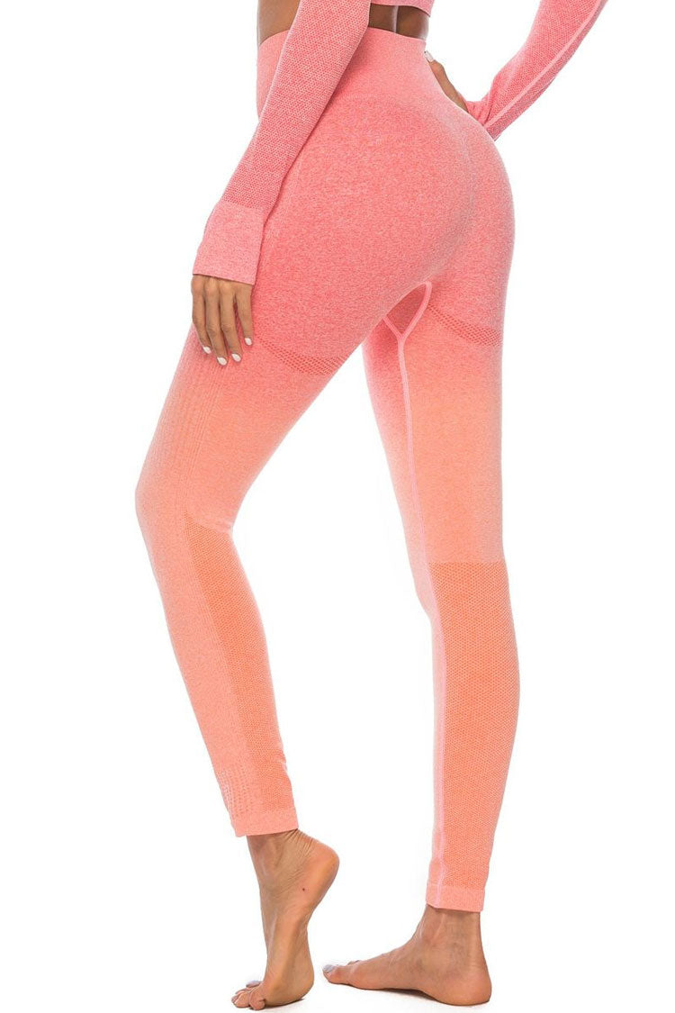 Spacedye Gradient Seamless Yoga Workout Leggings