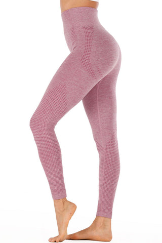 Spacedye High Waisted Seamless Active Yoga Leggings