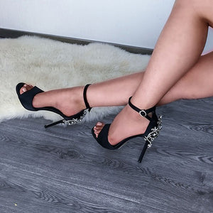 Diamond High Heels