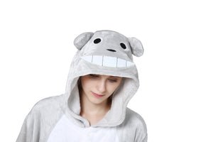 Lovely Cartoon Pajamas Costume Cosplay Onesie Sleepsuits Adult Animal Cosplay Costume Pajamas Onesie Unisex Cartoon Sleepwear