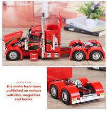 1505Pcs Genuine Technic MOC Series The Red Monster Set Children Educational Building Blocks Bricks Toys Model Gift