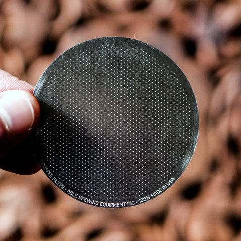 Able DISK Aeropress Coffee Filter Fine from Filter - Lifestyle Image