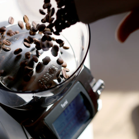Baratza Forté-AP Grinder hopper from Filter - Lifestyle Image