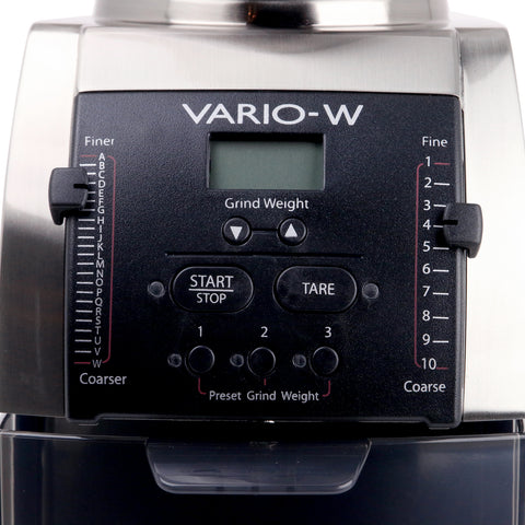 Baratza Vario-W Coffee Grinder display by Filter - Product Image