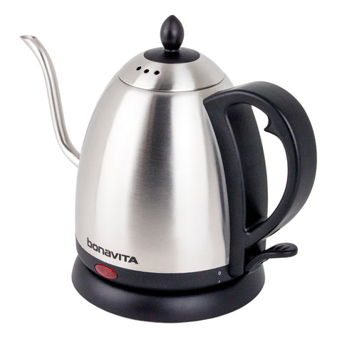 Bonavita 1 Liter Electric Gooseneck Stainless Kettle from Filter - Product Image