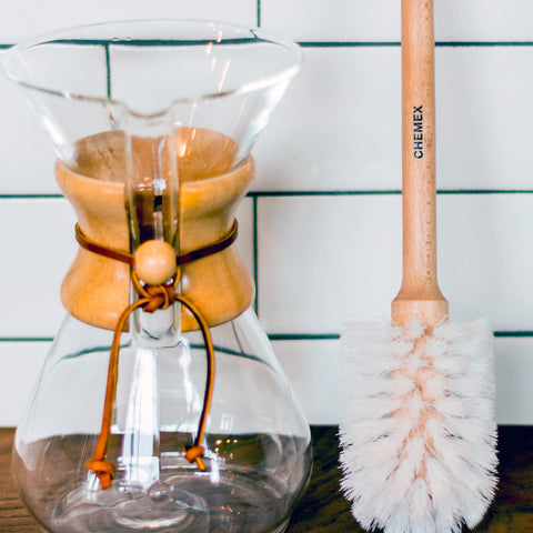 Chemex CMB Nylon Cleaning Brush from Filter - Lifestyle Image