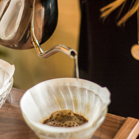Pour Over Triple Stand from Filter - Lifestyle Image