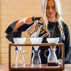 Fellow Stagg Pour Over Kettle copper from Filter - Lifestyle Image