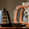 Hario v60 Buono Electric Kettle from Filter - Lifestyle Image
