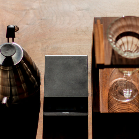 Pourover Stand from Filter - Lifestyle Image