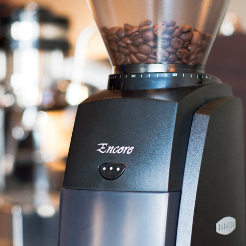 Baratza Encore Grinder hopper from Filter - Image