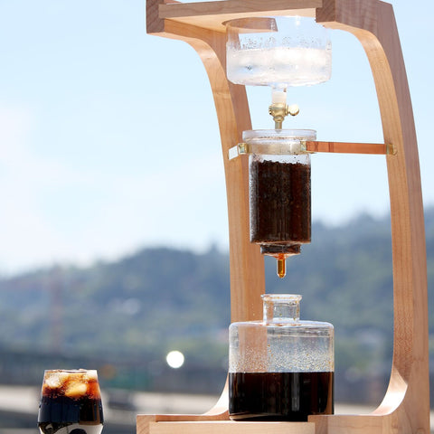 Filter Cold Brew Frit Disc from Filter - Lifestyle Image