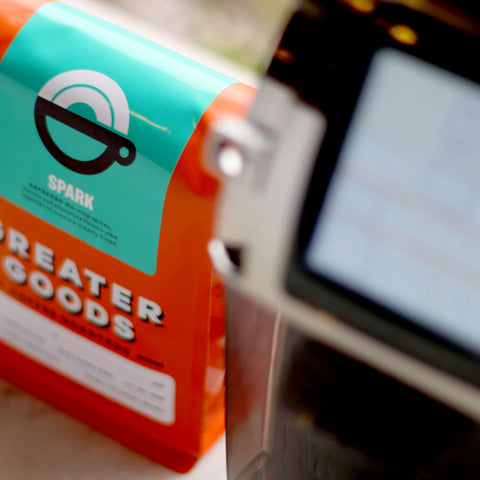 Greater Goods Coffee Roasters Good Vibes Brazil from Filter - Lifestyle Image