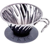 Hario V60 Black Metal Coffee Dripper - Product Image