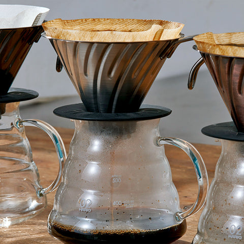 Hario v60 Range Server 600 from Filter - Lifestyle Image