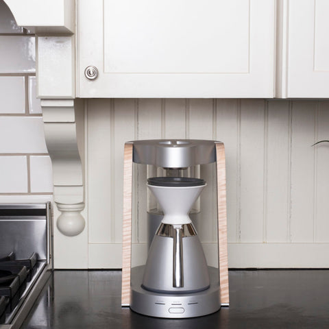 Ratio Porcelain Dripper with Eight from Filter - Lifestyle Image