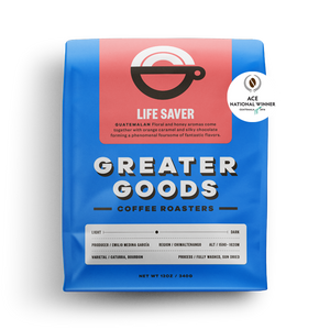 Greater Goods Coffee Roasters Life Saver Guatemala from Filter - Product Image