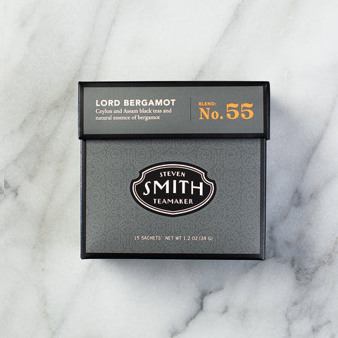 Steven Smith Teamaker Lord Bergamot Black Tea carton from Filter - Product Image