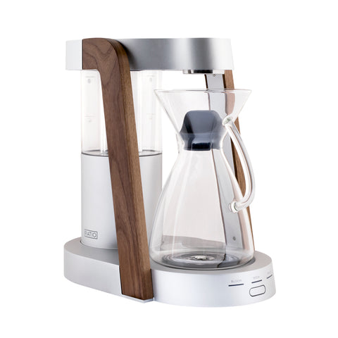 Ratio Eight Coffee Maker Silver Walnut by Filter - Product Image